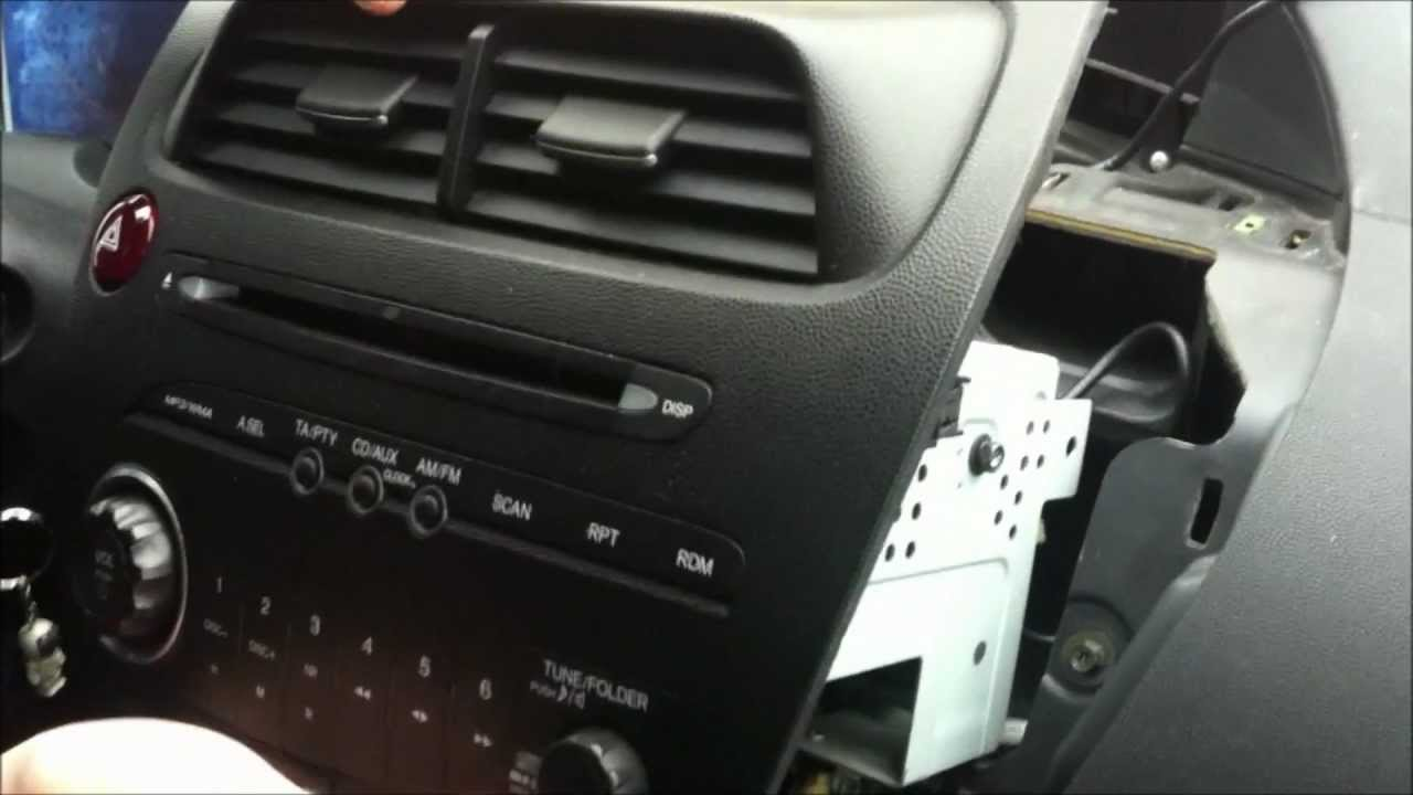 DSound - How to connect USB to Honda Civic original radio.wmv - YouTube