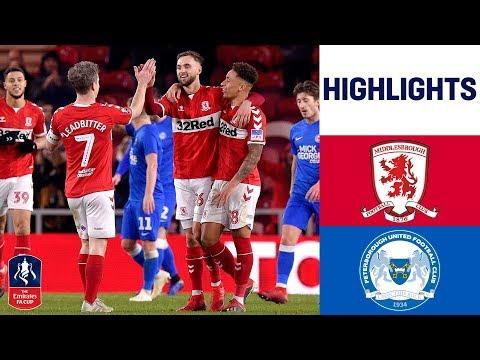 Middlesbrough 5-0 Peterborough | Boro crush League One Peterborough! | Emirates FA Cup 18/19