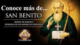 🔴 Conoce más de... San Benito Abad - Patrón de Europa y Patriarca de los monjes occidentales