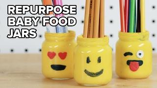 4 Ways To Repurpose Baby Food Jars