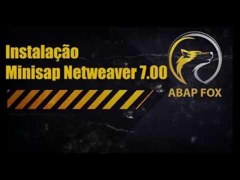 Abap SAP - Curso de Abap (AbapFox) passo a passo Aula Inicial - Instalação Minisap