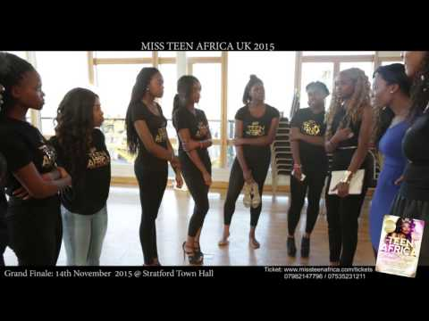 Miss Teen Africa UK 2015