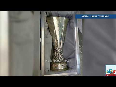 Recuperan trofeo de uefa europa league tras ser robado en guanajuato video