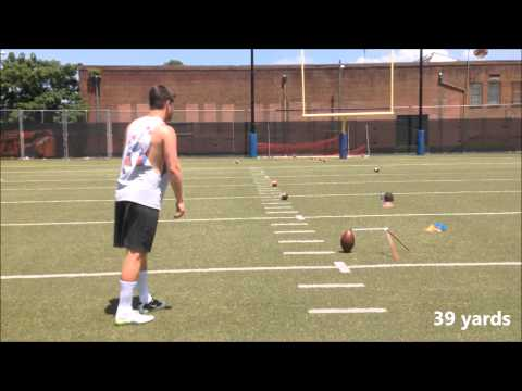 Wil Lutz | Kicker Punter | Georgia State | Field Goal Work | June 2015
