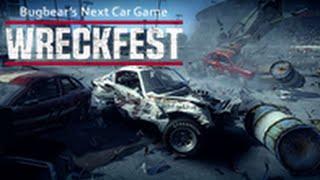 Wreckfest - Next Car Game PRE ALPHA PC Gameplay i7 4790 + GTX 660