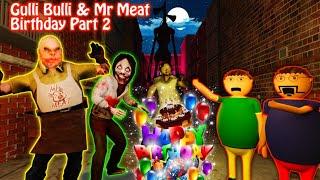 Gulli Bulli & Mr Meat Birthday Part 2   Make Joke Horror   Mr Meat Horror Story   Horror Joke Toons
