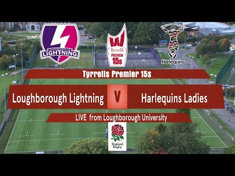LIVE | Loughborough Lightning v Harlequins Ladies