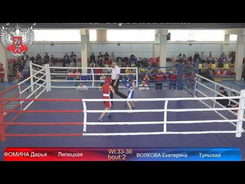 Чемпионат и Первенство ЦФО по боксу среди девушек 13 14; 15 16; 17 18; 19 40 лет день 2