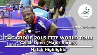 Czech Open 2015 Highlights: CHIANG Hung Chieh vs SALIFOU Abdel Kader (R 1)
