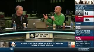 Boomer and Carton - Opening Segment - 01/31/2017 - NY Islanders Barclays Center Craig's Birthday
