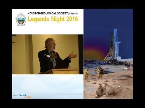 Peter Duncan  2016 Legends in Geophysics