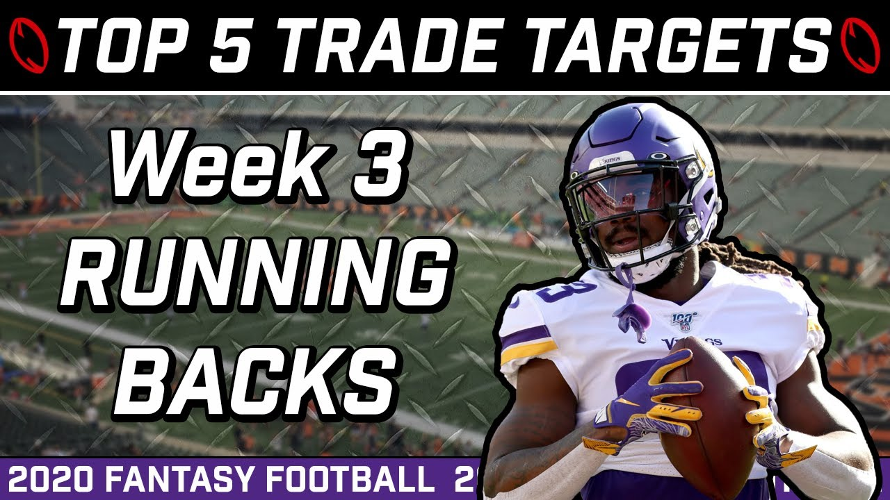 Top Five Running Back Trade Targets | What to do with Joe Mixon | Week 3 Fantasy Football 2020