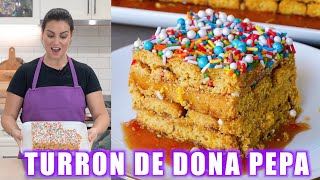Turrón de Doña Pepa the ONLY ENGLISH RECIPE ON YOUTUBE  STEP BY STEP  Eating with Andy