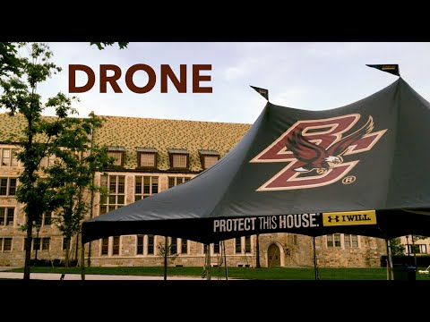 BOSTON COLLEGE CAMPUS TOUR  (ft. Drone shots)