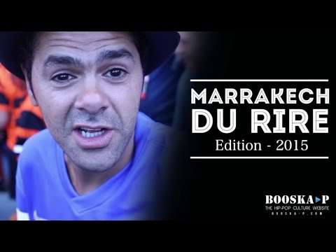 Marrakech Du Rire 2015 avec Jamel Debbouze