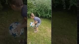 Psiaki Futbolaki - Kacper 4 lata