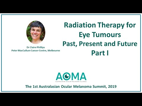 Radiation Therapy For Eye Tumours - Past, Present And Future, Part 1 - Dr Claire Phillips