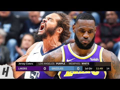 Los Angeles Lakers vs Memphis Grizzlies - Full Game Highlights | February 25, 2019