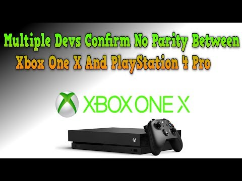 Sorry Sony Fanboys! Multiple Devs Confirm Xbox One X Will Get Better Versions Of Games Than PS4 Pro!
