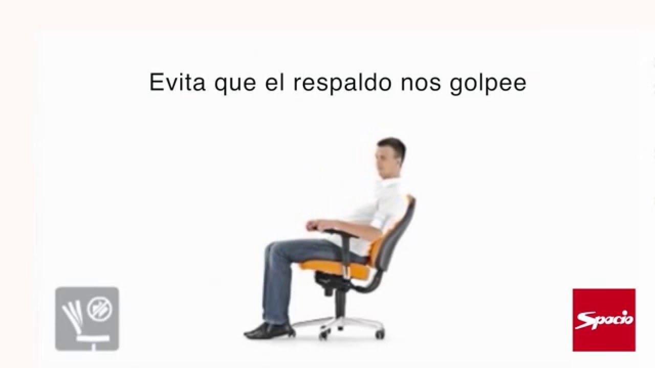 Sistema de regulaci n sincro sillas de oficina spacio for Sillas oficina valladolid