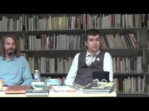 """"""" Qu'est-ce que le Streampunk ?"""" Arthur Morgan et Christophe Coquelet."""
