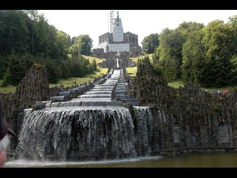 Hercules Monument - Kassel, Germany - Löwenburg Castle