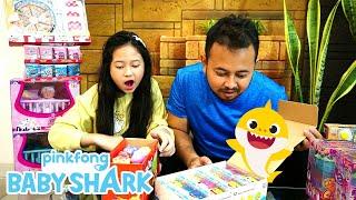 WoW ! Jessica Jenica koleksi EMCO Q-Pets Baby Shark dan Racing Buddies lengkap ! |