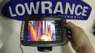 Lowrance Elite 7 Ti Pt.2 - Sonar Settings
