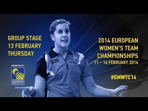 Group Stage - Sarah Walker (ENG) vs Nanna Vainio (FIN) - 2014 European Women's Team C'ships