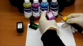 How to refill original cartridges HP303 and HP 303 XL