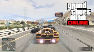 GTA 5 PS4 Online Racing – OBSTACLE WHAT? Racing Dirty! (GTA 5 PS4 Gameplay)
