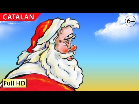 """Santa's Christmas: Learn Catalan with subtitles - Story for Children """"BookBox.com"""""""
