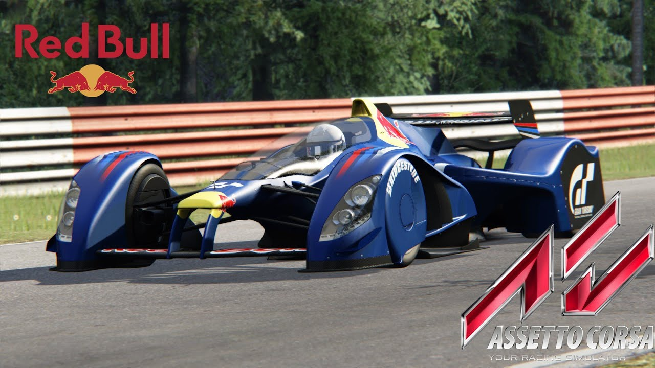 Assetto Corsa - Red Bull X2010 - Monza Hotlap - YouTube