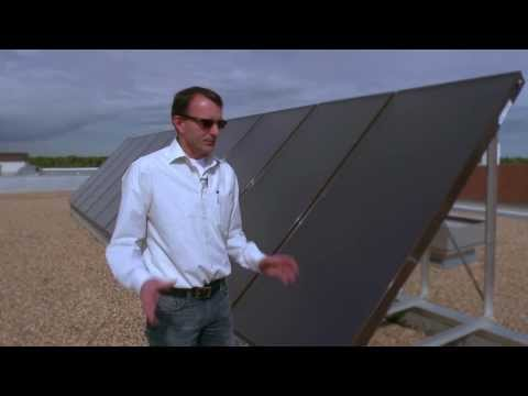 Augustana Campus solar-thermal project, University of Alberta.