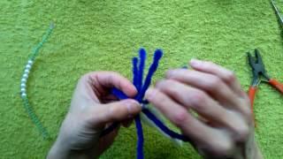 Майстер-клас з іграшок з синельної дроту. Швидкий павучок.
