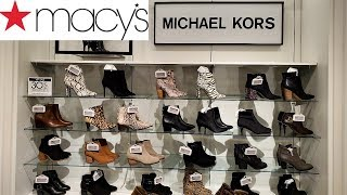 MACY'S FALL BOOTS SHOE SHOPPIN…