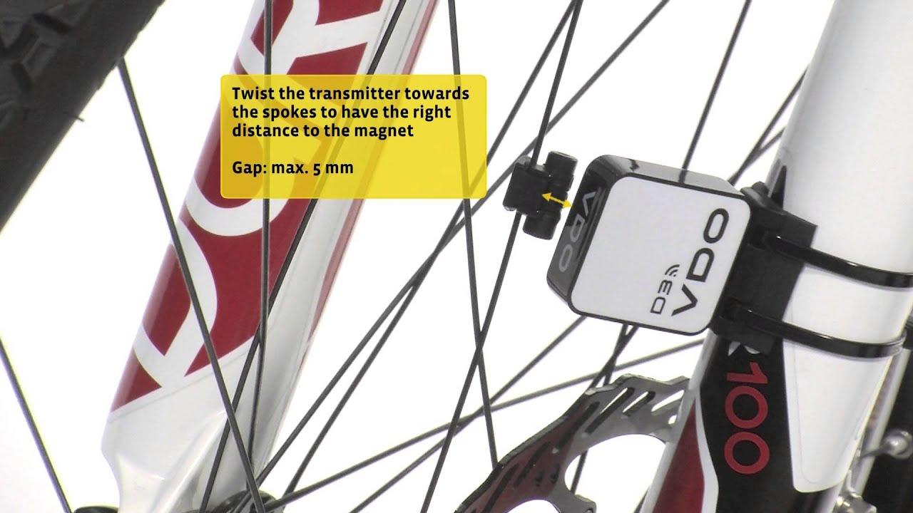 Vdo Cycleparts Installation Video M5 Youtube