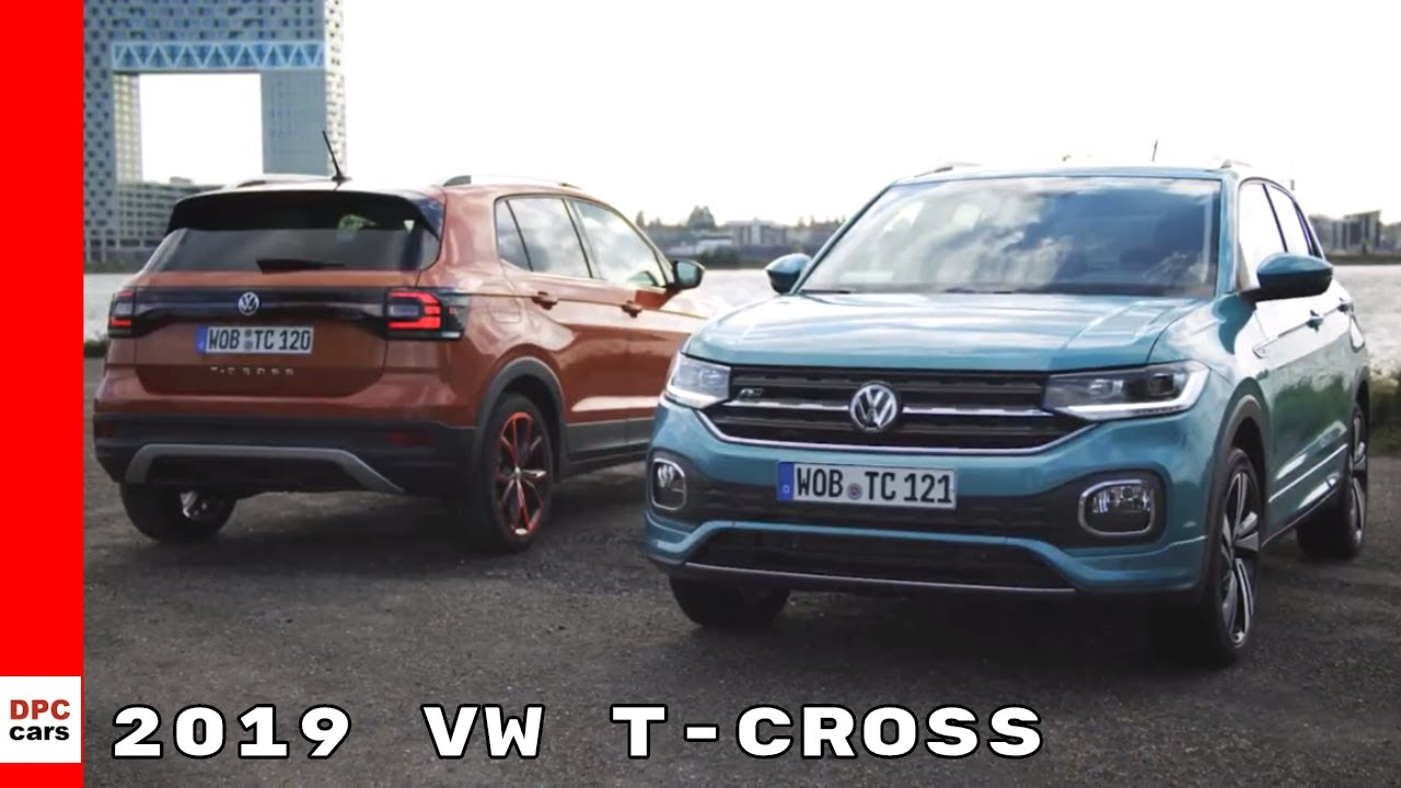 2019 vw t cross suv volkswagen youtube. Black Bedroom Furniture Sets. Home Design Ideas