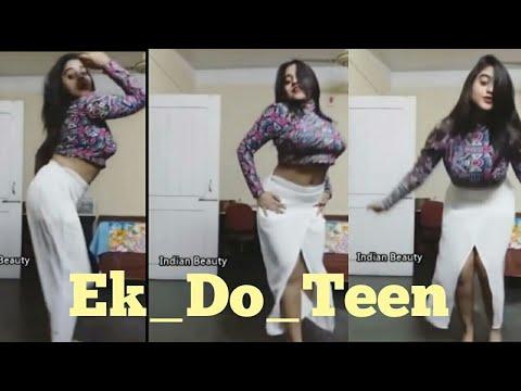 Baaghi 2 Song Ek Do Teen Hot Cover Dance By Beauty Indian Girl