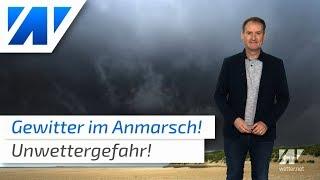 Wetter: Unwettergefahr heute und an Fronleichnam!
