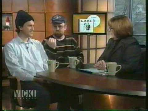 """Interview"" - CAKE on Vicky Gabereau, December 7th, 2001"