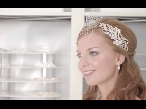 how to make a bridal veil youtube