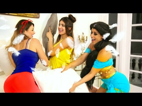 Thumbnail: Disney Princess Slumber Party
