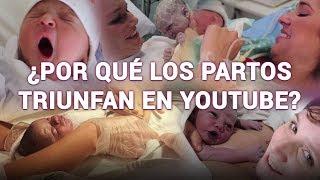 Los vídeos de partos lo petan en YouTube