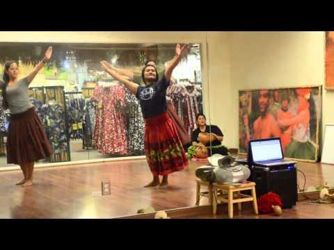 Kalakaua Chant Kahiko Choreography