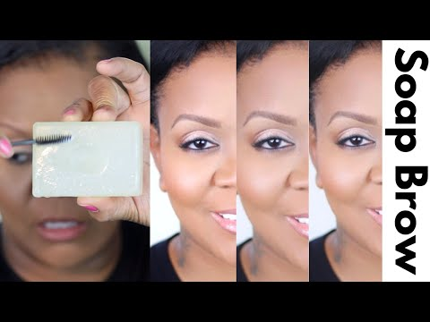 How To Make Thin Brows Look Full With Soap Eyebrows Technique: Eyebrow Tutorial