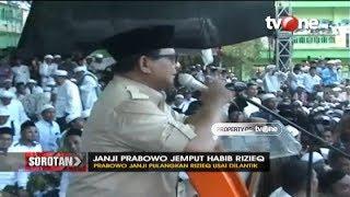 Download Sorotan: Janji Prabowo Jemput Habib Rizieq Mp3 and Videos