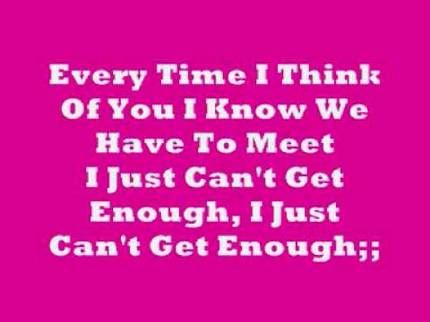 The Saturdays-I Just Can't Get Enough With Lyrics