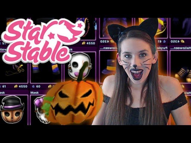 SSO Halloween Shopping Spree | Star Stable Online Halloween Update 2017