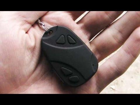 Скрытая камера в виде брелка от сигнализации автомобиля